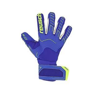 Reusch Attrakt Freegel G3 - Guantes de portero Reusch corte Evolution Negative Cut - azules - frontal derecho