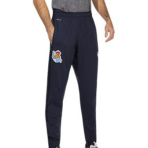 Pantalón Macron Real Sociedad entreno 2020 2021 - Pantalón largo de entrenamiento Macron de la Real Sociedad 2020 2021 - azul marino - frontal