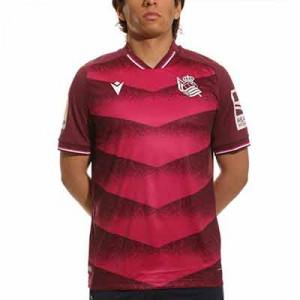 Camiseta Macron 2a Real Sociedad 2021 2022 - Camiseta segunda equipación Macron Real Sociedad 2021 2022 - lila