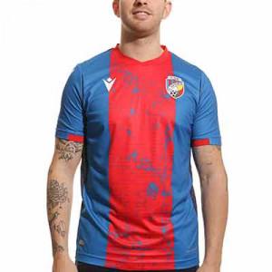Camiseta Macron Viktoria Pilsen 2021 2022 - Camiseta primera equipación Macron Viktoria Pilsen 2021 2022 - azul