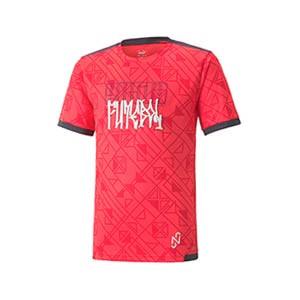 Camiseta Puma Neymar Jr Futebol niño - Camiseta infantil de calle Puma de Neymar Jr - roja