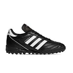 adidas Kaiser 5 Team - Botas de fútbol multitaco de piel adidas suela turf - Negro - pie derecho
