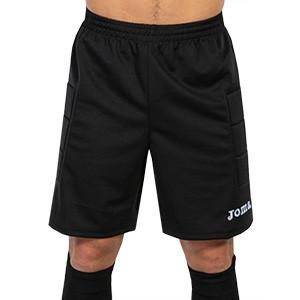 Pantalón portero Joma  - Pantalón portero acolchado Joma - negro - frontal