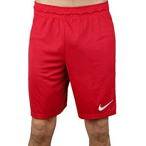 Short Nike Park II Knit - Pantalón corto de poliéster Nike - Rojo - frontal
