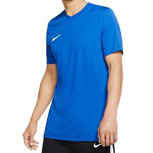 Camiseta Nike Park manga corta azul - Camiseta Nike Park manga corta - azul - frontal
