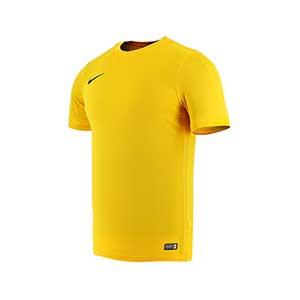 Camiseta Nike Park VI - Camiseta de poliéster Nike - Amarillo - frontal