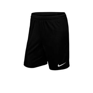 Short Nike Park 2 Knit niño - Pantalón corto de entrenamiento infantil Nike - negro - frontal