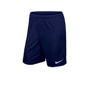 Short Nike Park 2 Knit niño - Pantalón corto de entrenamiento infantil Nike - azul marino - frontal