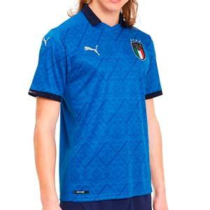 Camiseta Puma Italia 2021 - Camiseta primera equipación Puma de la selección italiana 2021 - azul