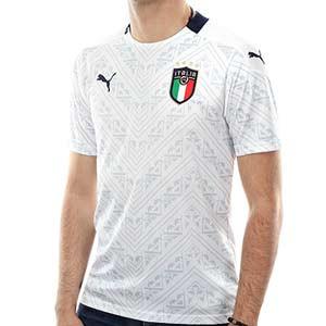 Camiseta Puma 2a Italia 2019 2020 - Camiseta Puma segunda equipación Italia 2019 2020 - blanca - frontal