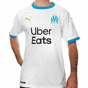 Camiseta Puma O Marsella 2020 2021 - Camiseta primera equipación Olympique de Marsella 2020 2021 - blanca - frontal