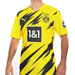 Camiseta Puma Borussia Dörtmund 2020 2021 - Camiseta Puma primera equipación BVB 2020 2021 - amarilla - frontal