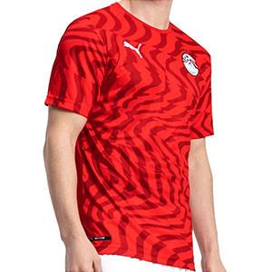 Camiseta Puma Egipto 2020 2021 - Camiseta Puma primera equipación Egipto 2020 2021 - roja - frontal