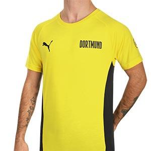 Camiseta Puma Borussia Dörtmund Evostripe - Camiseta Puma del Borussia Dörtmund - amarilla - frontal