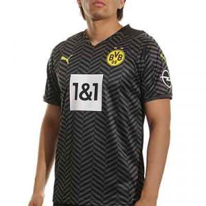 Camiseta Puma 2a Borussia Dörtmund 2021 2022 - Camiseta segunda equipación Puma del Borussia de Dörtmund 2021 2022 - negra