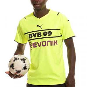 Camiseta Puma 3a Borussia Dortmund 2021 2022 - Camiseta de la tercera equipación Puma del Borussia de Dortmund 2021 2022 - amarilla flúor