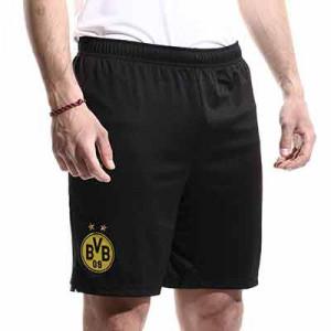 Short Puma Borussia Dörtmund 2021 2022 - Pantalón corto primera equipación Puma del Borussia Dörtmund 2021 2022 - negro - miniatura frontal