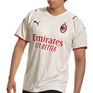 Camiseta Puma 2a AC Milan 2021 2022 - Camiseta segunda equipación Puma del AC Milan 2021 2022 - beige