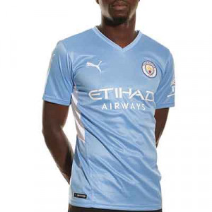 Camiseta Puma Manchester City 2021 2022 - Camiseta primera equipación Puma del Manchester City 2021 2022 - azul celeste