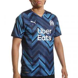Camiseta Puma 2a Olympique Marsella 2021 2022 - Camiseta segunda equipación Puma del Olympique de Marsella 2021 2022 - azul marino
