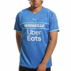 Camiseta Puma 3a Olympique Marsella 2021 2022 - Camiseta de la tercera equipación Puma del Olypmique de Marsella 2021 2022 - azul