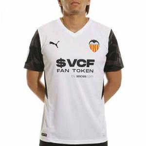 Camiseta Puma Valencia 2021 2022 - Camiseta primera equipación Puma Valencia CF 2021 2022 - blanca