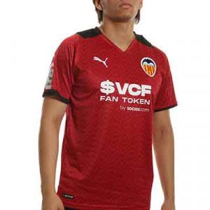 Camiseta Puma 2a Valencia 2021 2022 - Camiseta segunda equipación Puma Valencia CF 2021 2022 - blanca