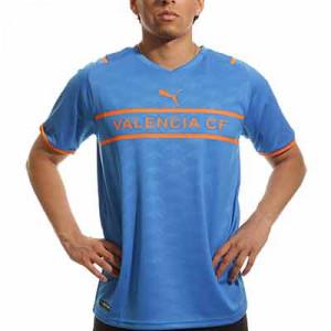 Camiseta Puma 3a Valencia 2021 2022 - Camiseta de la tercera equipación Puma del Valencia 2021 2022 - azul