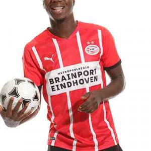 Camiseta Puma PSV 2021 2022 - Camiseta primera equipación Puma PSV Eindhoven 2021 2022 - roja y blanca