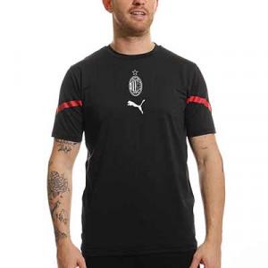 Camiseta Puma AC Milan pre-match - Camiseta de calentamiento Puma del AC Milan 2021 2022 - negra