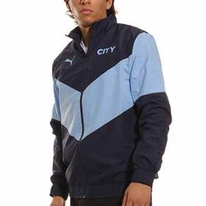 Chaqueta Puma Manchester City himno - Chaqueta chándal himno Puma del Manchester City - azul marino