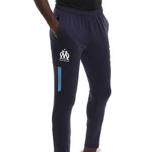 Pantalón Puma Olympique Marsella pre-match - Pantalón largo de calentamiento pre-partido Puma Olympique de Marsella - azul marino