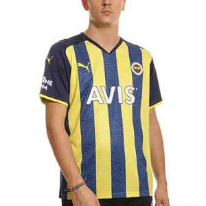 Camiseta Puma Fenerbahçe 2021 2022 - Camiseta primera equipación Puma del Fenerbahçe 2021 2022 - azul