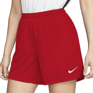 Short Nike Park mujer - Pantalón corto de mujer Nike Park - rojo - frontal