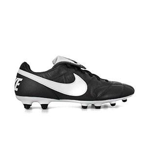 Botas Nike Premier II FG - Botas de fútbol Nike Premier II suela FG - Negro - derecho