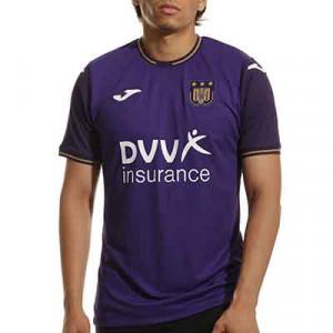 Camiseta Joma Anderlecht 2021 2022 - Camiseta primera equipación Joma Anderlecht 2021 2022 - lila