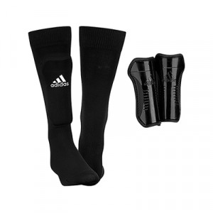 adidas Youth Sock Guard - Espinilleras de fútbol para niño adidas con media - Negro - AH7764-adidas Youth Sock Guard