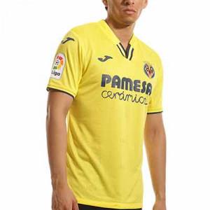 Camiseta Joma Villarreal 2021 2022 - Camiseta primera equipación Joma Villarreal CF 2021 2022 - amarilla