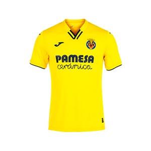 Camiseta Joma Villarreal niño 2021 2022 - Camiseta primera equipación infantil Joma Villarreal CF 2021 2022 - amarilla
