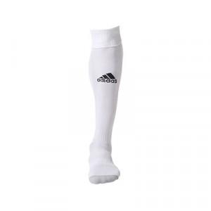 Medias adidas Milano - Medias de fútbol adidas - blancas - frontal