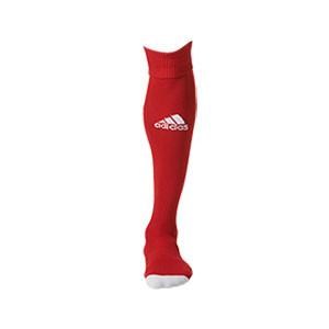 Medias adidas Milano - Medias de fútbol adidas - rojas - frontal