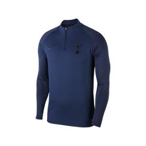 Sudadera Nike Tottenham entreno 2019 2020 Strike - Sudadera de entrenamiento del Tottenham 2019 2020 - azul marino - frontal