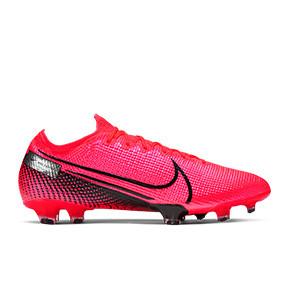 Nike Mercurial Vapor 13 Elite FG - Botas de fútbol Nike FG para césped natural o artificial de última generación - rosas - pie derecho