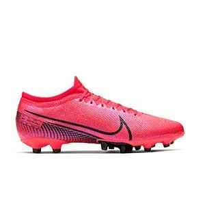 Nike Mercurial Vapor 13 Pro AG-PRO - Botas de fútbol Nike AG-PRO para césped artificial - rosas - pie derecho