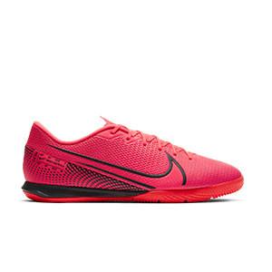 Nike Mercurial Vapor 13 Academy IC - Zapatillas fútbol sala Nike suela lisa IC - rosas - pie derecho