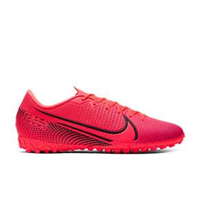 Nike Mercurial Vapor 13 Academy TF - Zapatillas multitaco Nike suela turf - rosas - pie derecho