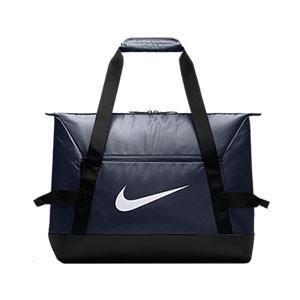 Bolsa de deporte con zapatillero Nike Academy - Bolsa de entrenamiento Nike (48 x 30 x 38) cm - azul marino - Frontal