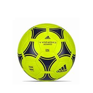 Balón adidas Tango Rosario talla 5 - Balón de fútbol adidas talla 5 - amarillo flúor - frontal