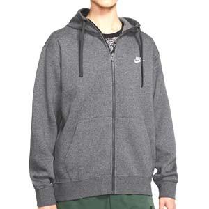 Sudadera Nike Sportswear Club Hoodie - Sudadera con capucha de algodón Nike - gris