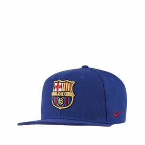 Gorra Nike Barcelona Pro niño - Gorra infantil Nike Pro FC Barcelona - azul - frontal